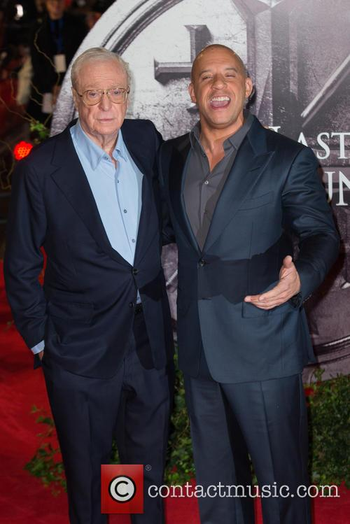 Vin Diesel and Sir Michael Caine 2