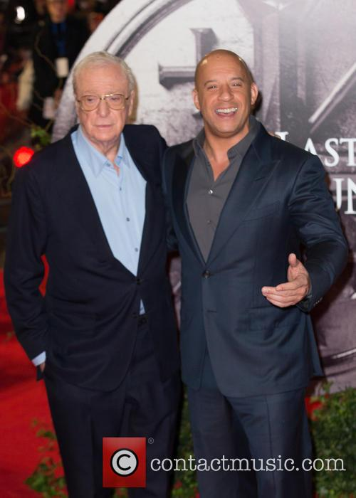 Vin Diesel and Sir Michael Caine 3