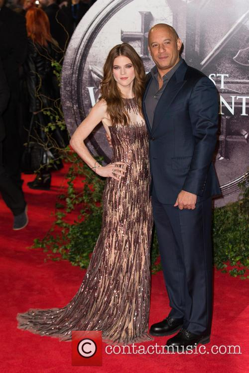 Vin Diesel and Rose Leslie 2