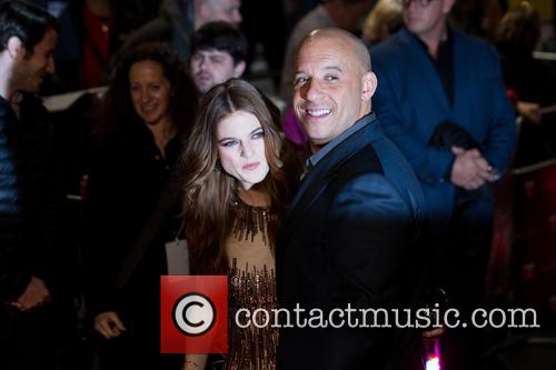 Vin Diesel and Rose Leslie 3