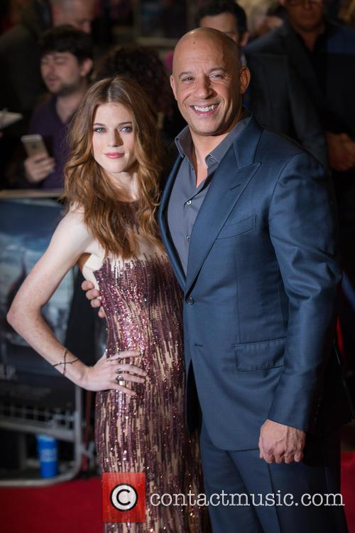 Vin Diesel and Rose Leslie 4