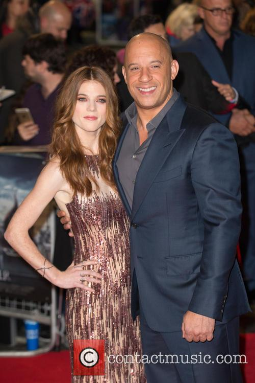 Vin Diesel and Rose Leslie 1