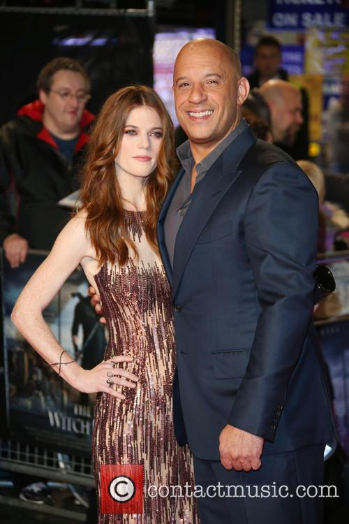 Rose Leslie and Vin Diesel 10