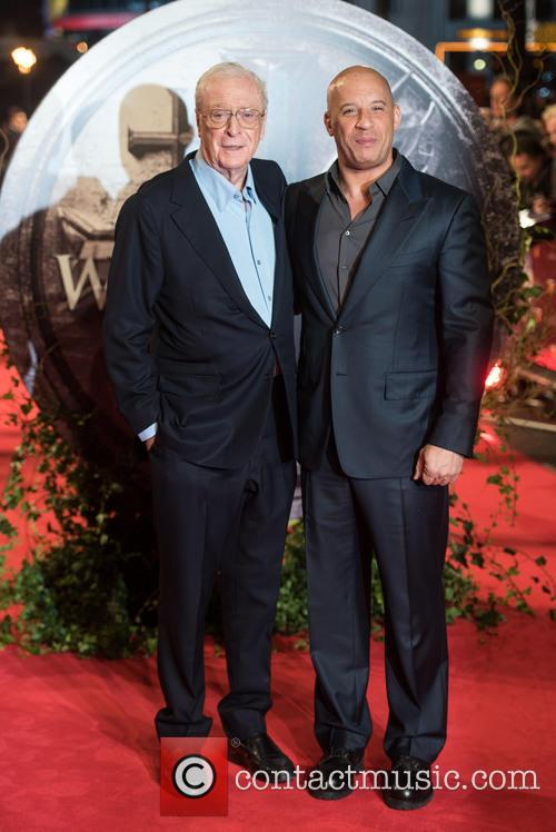 Vin Diesel and Sir Michael Caine 4