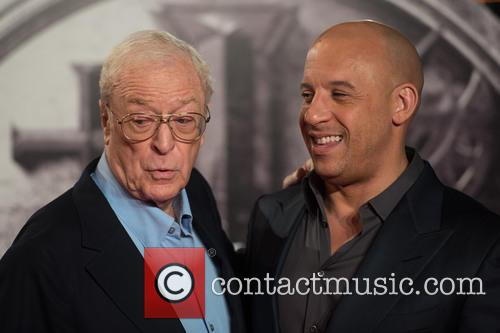 Vin Diesel and Sir Michael Caine 1