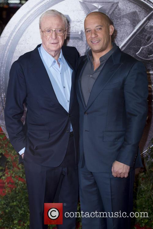 Michael Caine and Vin Diesel 1