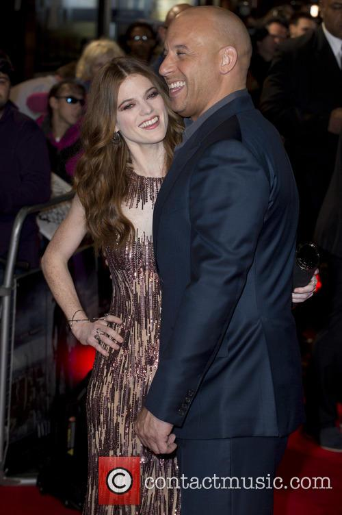 Rose Leslie and Vin Diesel 5