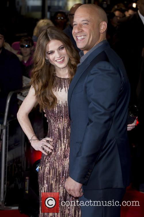 Rose Leslie and Vin Diesel 6