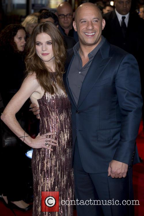 Rose Leslie and Vin Diesel 7