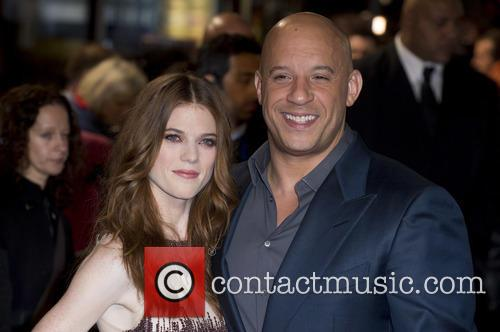Rose Leslie and Vin Diesel 8