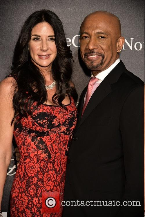 Wife and Montel Williams 4