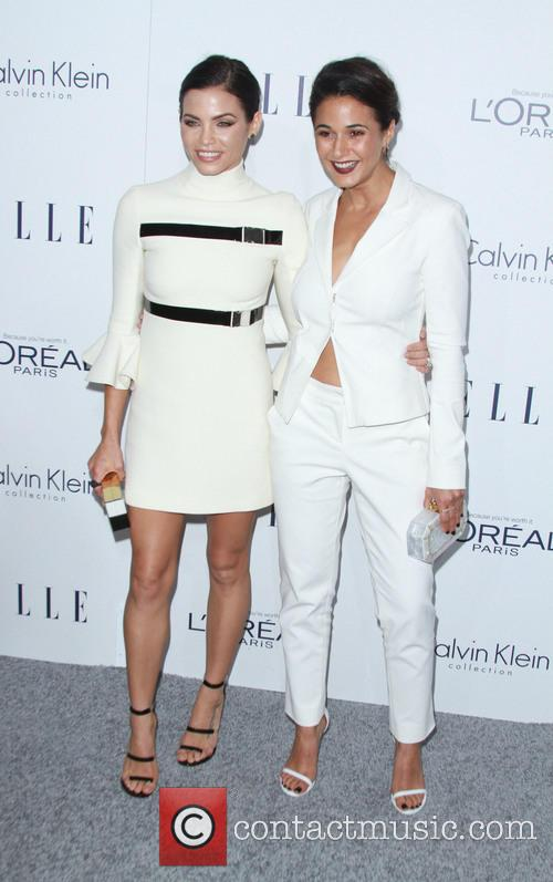 Jenna Dewan Tatum and Emmanuelle Chriqui 2