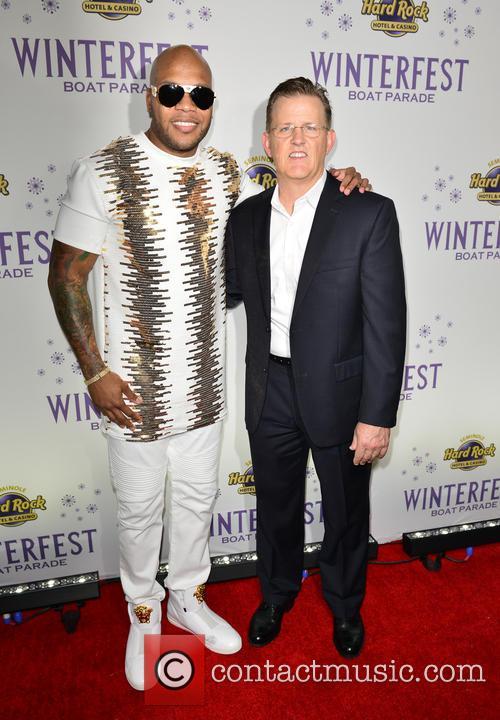Flo Rida and Bill Wright 1