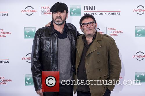 Eric Cantona and Sergi Lopez 2