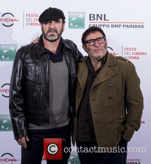 Eric Cantona and Sergi Lopez 3