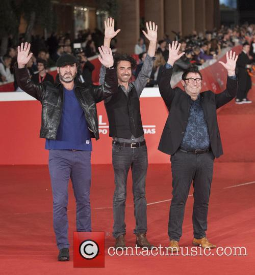 Sergi Lopez, Eric Cantona and Laurent Laffargue 1