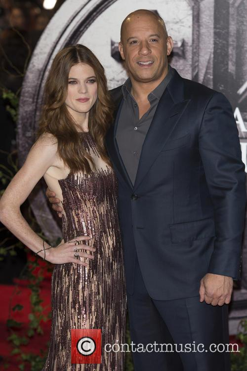 Rose Leslie and Vin Diesel 11
