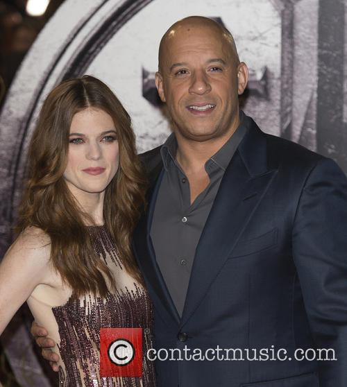 Rose Leslie and Vin Diesel 1