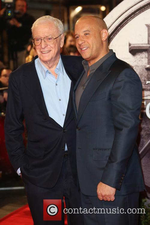 Sir Michael Caine and Vin Diesel 3