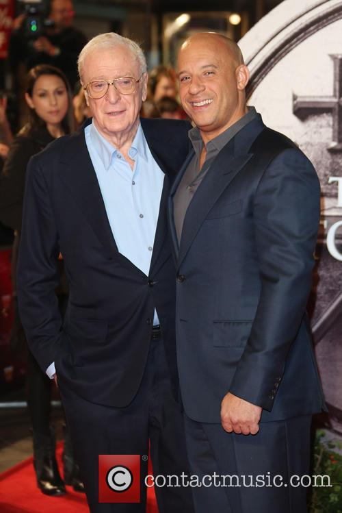 Sir Michael Caine and Vin Diesel 1