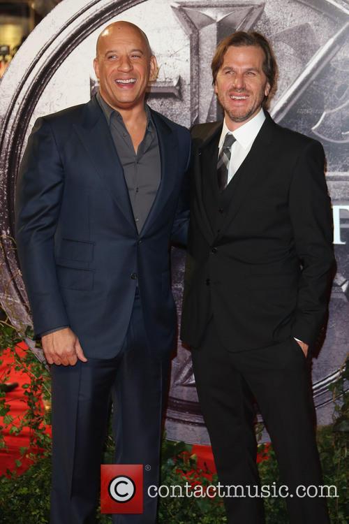 Vin Diesel and Breck Eisner 1