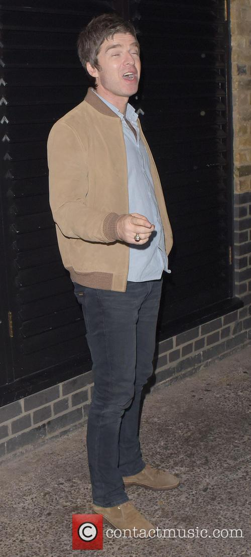 Noel Gallagher and Mark Robson leave Chiltern Firehouse
