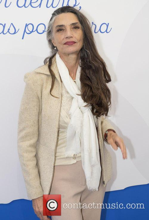 Angela Molina attends 'Your Bones, Your Second Skin'
