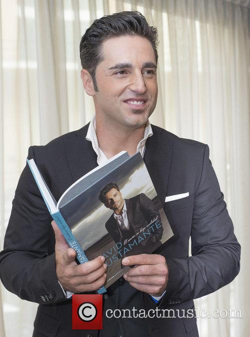 David Bustamante presents his new book 'The Dream...