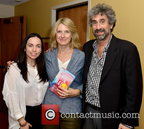 Sharon Steel-cardenal, Elizabeth Gilbert and Mitchell Kaplan 1