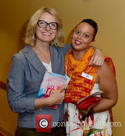 Elizabeth Gilbert and Tina Williams 1