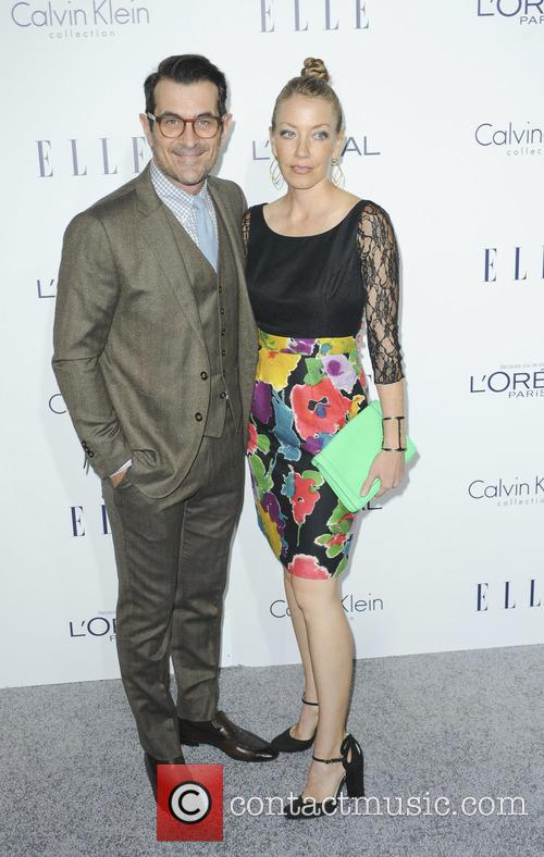 Ty Burrell and Holly Burrell 1