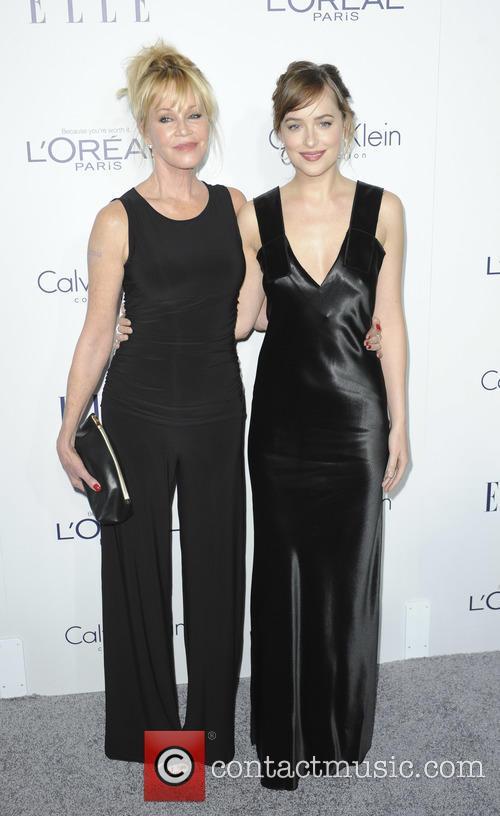Dakota Johnson and Melanie Griffith 3