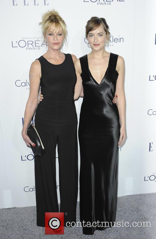 Dakota Johnson and Melanie Griffith 1