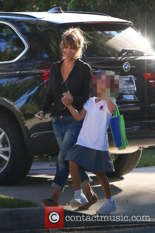 Halle Berry and Nahla seen out and about...