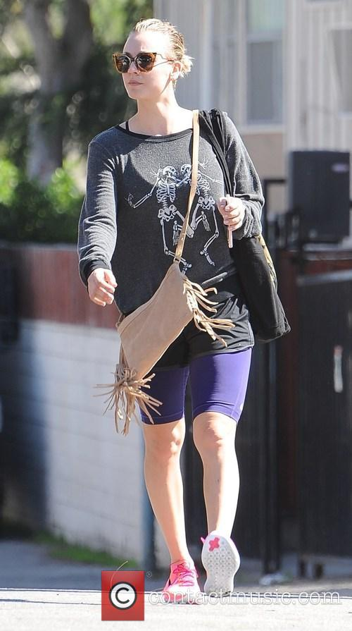 Kaley Cuoco out and about running errands