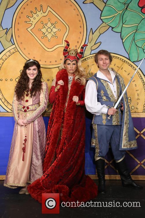 Katie Price, Ben Faulks and Carla Nella 1