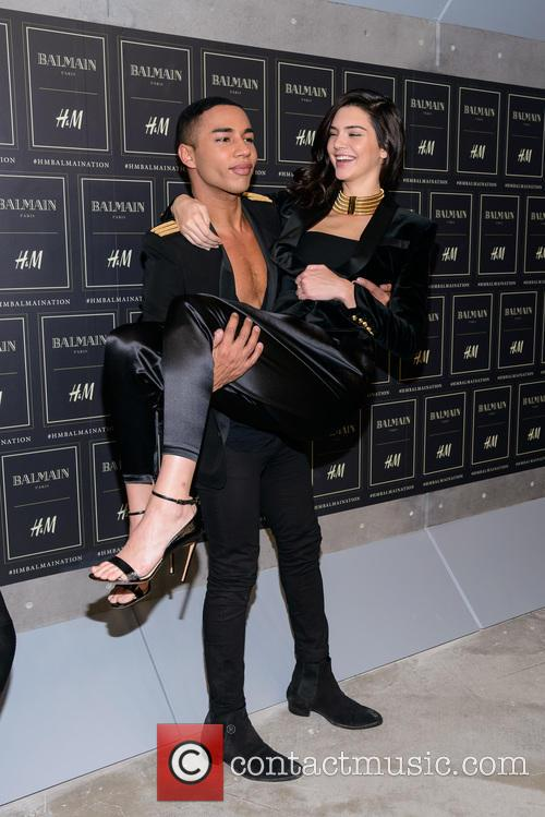 Olivier Rousteing and Kendall Jenner 3
