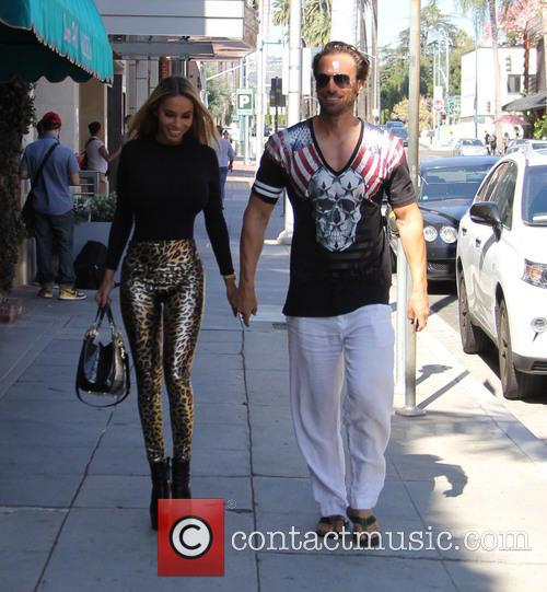 Bastian and Maria Yotta shopping in Beverly Hills