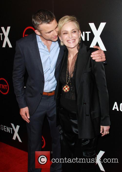 Jeff Hephner and Sharon Stone 1