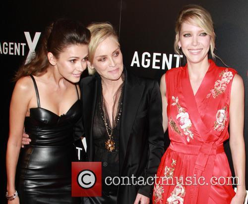Olga Fonda, Sharon Stone and Carolyn Stotesbery 2