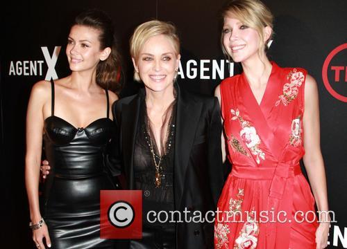 Olga Fonda, Sharon Stone and Carolyn Stotesbery 3