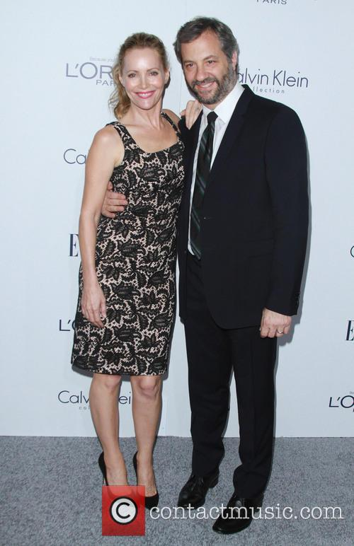 Leslie Mann and Husband Judd Apatow 2