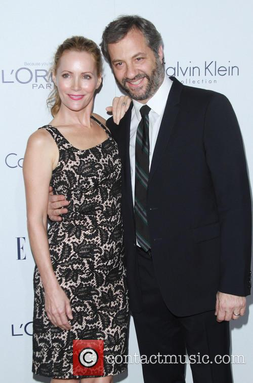 Leslie Mann and Husband Judd Apatow 3
