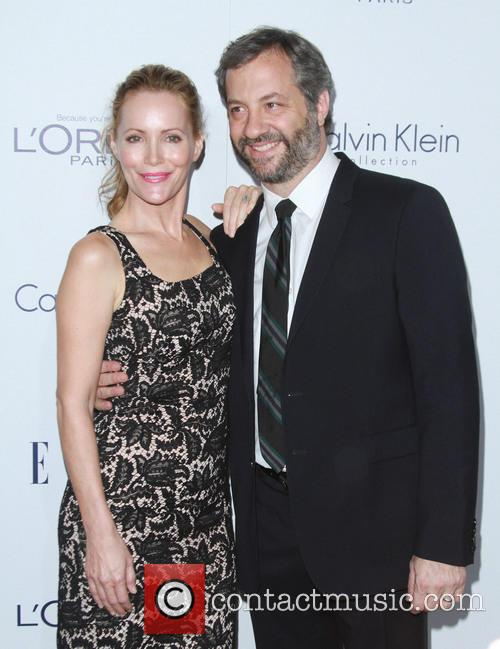 Leslie Mann and Husband Judd Apatow 4