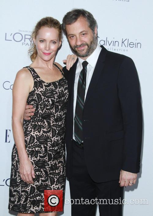 Leslie Mann and Husband Judd Apatow 1