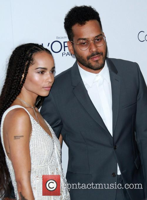 Zoe Kravitz and Twin Shadow
