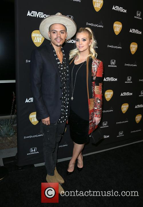 Evan Ross and Ashlee Simpson Ross 2