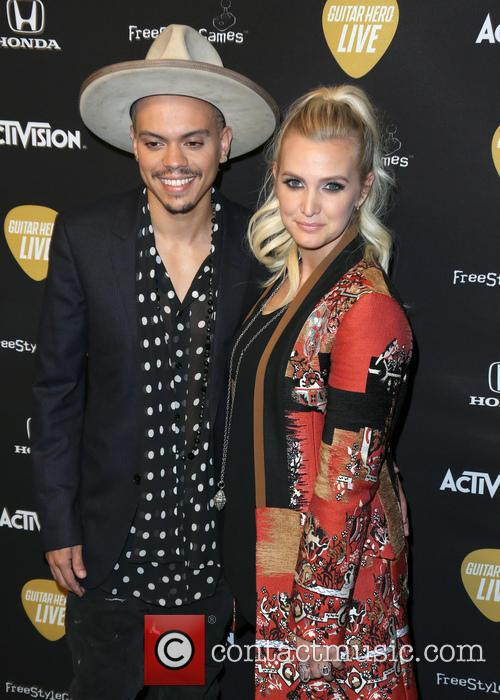 Evan Ross and Ashlee Simpson Ross 5