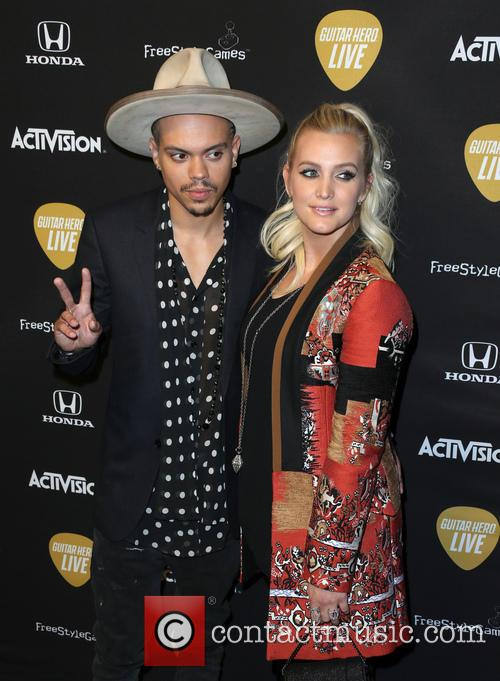 Evan Ross and Ashlee Simpson Ross 6