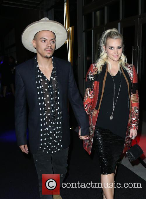Evan Ross and Ashlee Simpson Ross 7